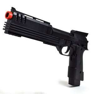 BC 2030B 150 FPS Electric Airsoft Pistol w/Silencer & Sample BBs