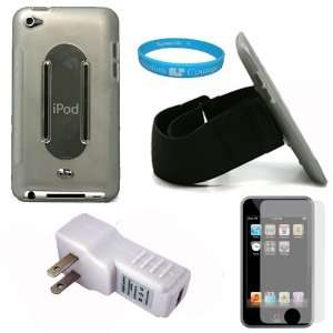Protective Silicone Skin Cover Case with Anti Slip Grip for iPod
