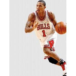 : Wallpaper Fathead Fathead NBA Players & Logos Derrick Rose Chicago