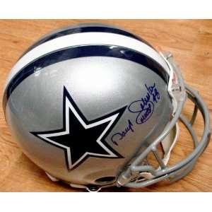 Daryl Moose Johnston (Dallas Cowboys) Football Helmet
