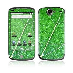 HTC Google Nexus One Decal Vinyl Skin   Green Leaf Texture