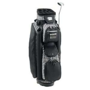 RJ Sports Ladies Boutique Houndstooth Golf Bag Sports