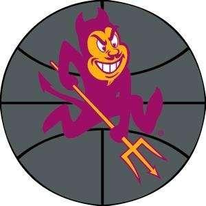 Arizona State University Sun Devils Basketball Rug 4