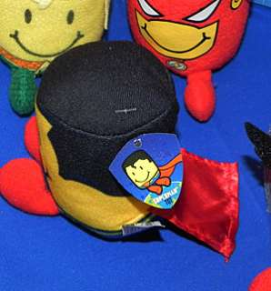 Justice League Sonic Tots Plush Set of 10 w/3 Card Packs Superman