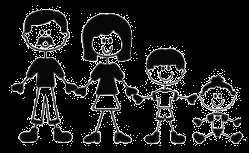 Custom Family Stickers Vinyl Decal Car Window Stick Figures