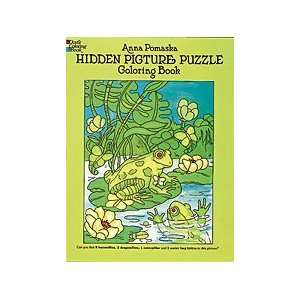 Hidden Picture Puzzle Coloring Book Toys & Games
