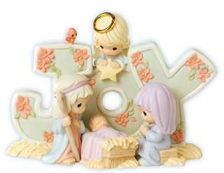 Precious Moments Christmas Nativity Figurines : JOY # 610013
