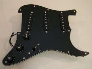Nicos Vintage USA Classic 50s 5 Way TBX Black Loaded Fender Strat