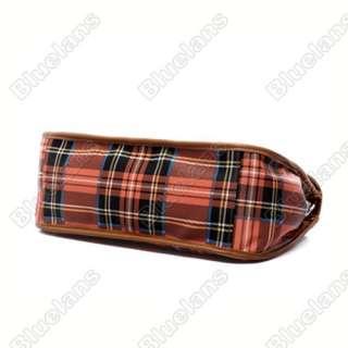 England Vintage Scotland College Style Girls Bag Plaid Hand Bag