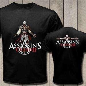 New Assassins Creed Movie Black T Shirt Tee S,M,L,XL