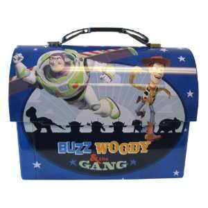 Disney Buzz Woody and the Gang Blue DomeToy Story Lunch Box