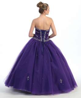 QUINCEANERA SWEET16 BALL GOWN MILITARY BALL FANCY DRESS WEDDING DANCE