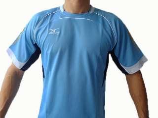 NWT MIZUNO Football Soccer Jersey Shirt Light blue L
