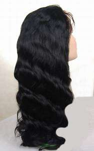 NATURAL CHINESE FULL LACE HUMAN HAIR REMY ANY TEXTURE OR WAVE WIG