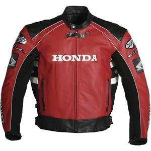Joe Rocket Honda CBR Leather Jacket   42/Red/Black