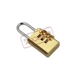 DIAL COMBINATION For LUGGAGE TRAVEL BAG CODE LOCK US