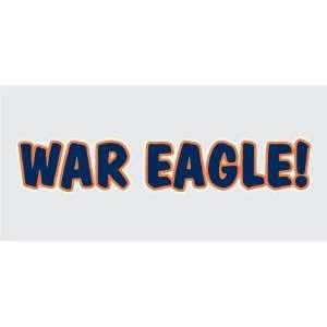 AUBURN TIGERS WAR EAGLE vinyl decal sticker AU truck