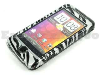 Hard Case Cover HTC Desire Z T Mobile G2 Black Zebra