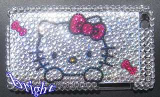 New Hello kitty Bling Case Cover For iPod Touch 4 4G
