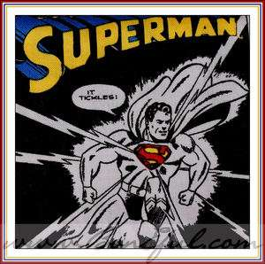 Retro Boy Boutique Super HERO Marvel Comic Book *Strip Superman