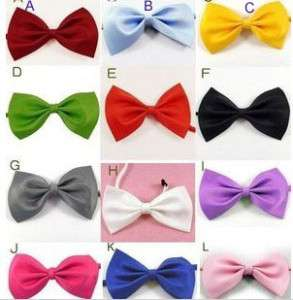Dog Cat Pet Collar ACCESSORY Bow tie necktie 12 color