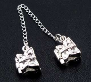 Safety Chains Stopper Beads Clips/Locks Fit Charm Bracelet