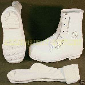 Military EXTREME COLD WEATHER  30° MICKEY MOUSE BUNNY BOOTS White7R