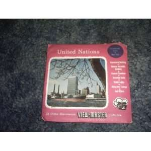 United Nations View Master Reels SAWYERS Books
