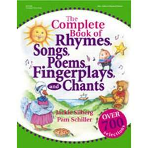 3 Pack GRYPHON HOUSE THE COMPLETE BOOK OF RHYMES SONGS