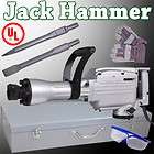 insulated electric demolition jack hammer chisels concrete breaker