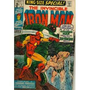 The Invincible Iron Man King Size Special #1 (Vol. 1