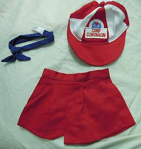 New American Girl   Mollys Camp Gowonagin Unitform