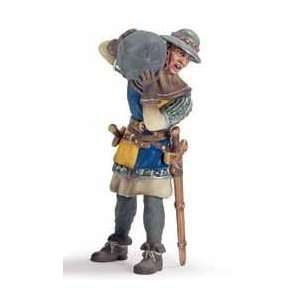 Schleich Knight: Foot Soldier with Stone: Toys & Games