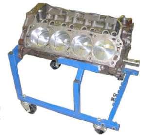 Ford 438 Stroker Race Engine Pro Street Blower Motor