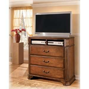 Traditional Classic Wood Media Chest Home & Kitchen