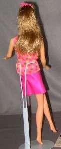 Vinage Barbie Mod GoGoCoCo Brown Hair N wis n urn Original op