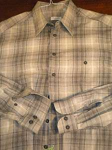 PAL ZILERI Mens Casual Shirt MADE IN ITALY XL