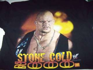 Stone Cold STEVE AUSTIN T Shirt Size XL WWF WRESTLING