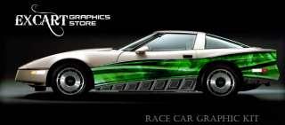RACE CAR GRAPHICS Vinyl Decal IMCA Late Model Racing ##
