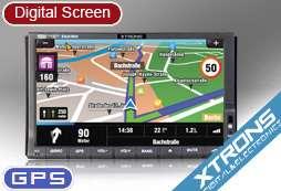 XTRONS TD714G 7 CAR DVD PLAYER TV GPS Game 3G IPOD SD USB bluetooth