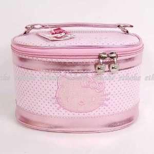 Hello Kitty Travel Cosmetic Makeup Bag 3 pcs Set Health