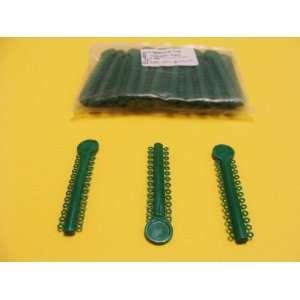 Dental Elastic Orthodontic Dark Green Pack/1040 Ligature Ties ELN005