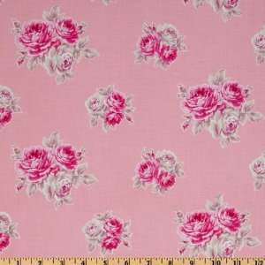 French Hat Box Trirose Rose Fabric By The Yard Arts, Crafts & Sewing
