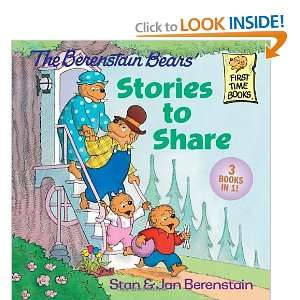 The Berenstain Bears Stories to Share (First Time Books