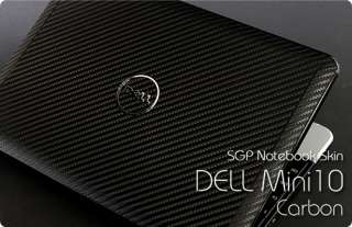 Dell Inspiron Mini 10 Laptop Cover Skin   Carbon