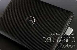 Dell Inspiron Mini 10 Laptop Cover Skin   Carbon