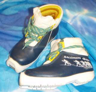SALOMON SNS Profil Cross Country Ski Boots 28  11 1/2