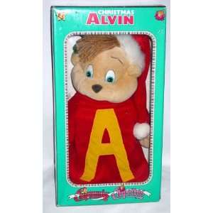 Alvin and the Chipmunks   Christmas Alvin Figure: Toys