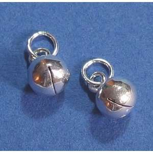 Dreambell (Free S/H) 4 pcs Sterling Silver Jingle Bell Dangle Charms