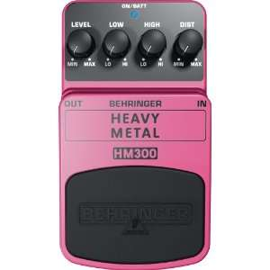 BEHRINGER Heavy Metal Distortion Effects Pedal   HM300